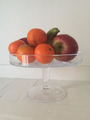 High footed Handmade Cake Stand, Solavia Glassware